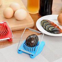 Stainless Steel Boiled Egg Slicer Cutter Mushroom Tomato Chopper Kitchen Tool