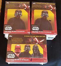 3x Topps Star Wars The Rise de Skywalker 2019 Blaster Box