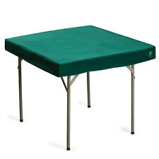 Table Cover for Poker, Cards, Dominos etc, Professional Grade, Green, 36 x 36 In