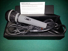 Optimus Unidirectiomal Dynamic Microphone 33-3018