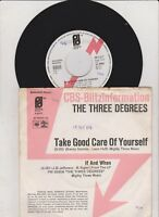 "The Three Degrees - Take Good Care Of Yourself (CBS Blitzinfo, 7"" Single)"