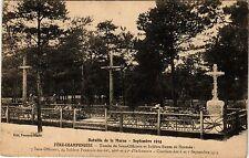 CPA Militaire, Fere Champenoise - Tombe de Sous officiers (277737)