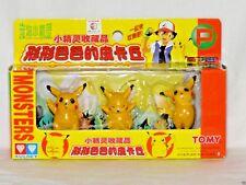"NEW IN BOX LOT OF 3 POKEMON PIKACHU AULDEY TOMY PVC 2"" FIGURES"