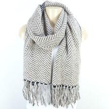 Missoni Tricot écharpe scarf foulard écharpe Knit rose noir paillettes (t108)