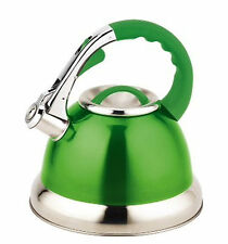 Royal Cuisine Stainless Steel 3L Whistling Kettle Stovetop Inductionable Camping
