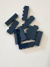 Lego dark blue brick 1x4 (3010),10 parts