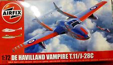 De Havilland Vampire T.11/J-28C RAF - Airfix Kit 1:72 - 02058A Nuovo