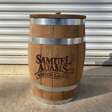 Samuel Adams Boston Lager Wooden Barrel