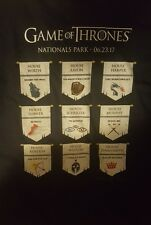 Washington Nationals Game of Thrones T-Shirt SGA Size XL 6/23/17