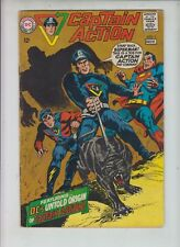 CAPTAIN ACTION  #1 DC  1968  Jim Shooter + Wally Wood  SUPERMAN