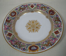 Sevres Porcelain (France) Chateau De Fontainebleau Hunt Scene 2 Soup Bowl Plates