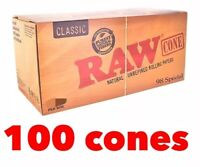 raw classic 98 special size pre rolled cone (100 packs) 100% AUTHENTIC