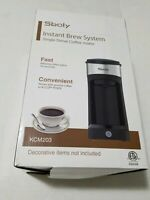 Sboly Brew System Single Serve Coffee Maker Ground Coffee or K-CUPS PODS.