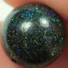Multicoloured Solid FAIRY OPAL Round bead 5.3 TCW KucinaOpals