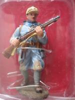 FIGURINE HACHETTE  SOLDATS DE 1914 1918 14-18  # 2A POILU FRANCAIS 1916