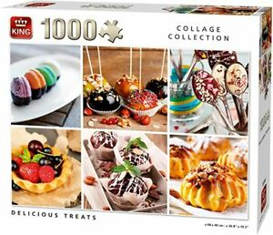King Delicious Treats. Collage Collection 1000 Piece Jigsaw Puzzle