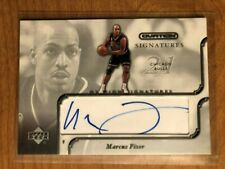 02 Upper Deck Ovation Signatures Marcus Fizer autograph Iowa State Chicago Bulls