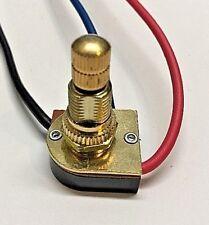 ZE-116-1M Hotel light rotary switch brass knob