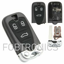 NEW Fits Alfa Romeo 159 BRERA SPIDER 3 Button Fob Remote Key Case **A85