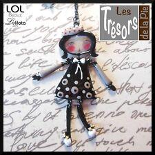 Pépette poupée Tina bleu Sautoir LOL Bijoux Lolilota av 14,90€