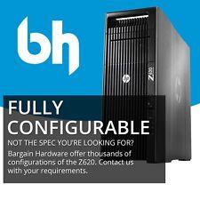 HP Z620: 2x Xeon 3.10GHz Eight 8-Core, 48GB RAM, SSD Editing Workstation Tower
