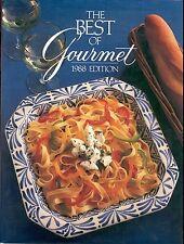 The Best of Gourmet Vol. 3 1988 Gourmet Magazine Cookbook Book HC DJ 1st ed