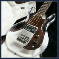Electric Armstrong Bass Guitar Acrylic Body Rosewood Fingerboard Fixed Bridge