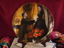The Proposal Gone with the Wind Golden Anniversary Plate Coa Box #Tp1