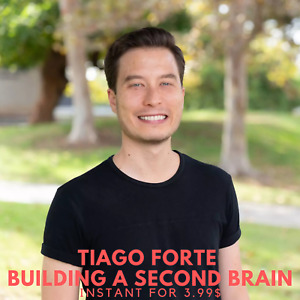 Tiago Forte - Building A Second Brain Course Program |➕ Value $997
