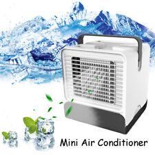 USB mini Air Conditioner Fan Mini Cool Bedroom Desk Portable Cooler
