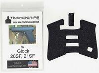 Tractiongrips rubber grip tape overlay for Glock 20SF, 21SF