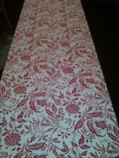 170 X 54 Table Cloth Red And White Stain Proof