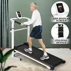 Brand New Folding Manual Treadmill Walking Machine Cardio Fitness Exercise Home