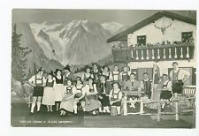 Tiroler Buhne—Innsbruck—Austria Alpine Band RPPC Antique Fotokarte AK 1950s