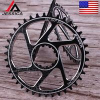 GXP 3mm Offset 32/34/36/38T Chainring Bike Narrow Wide Chainwheel Direct Mount