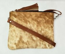 Cowhide Shoulder /Cross body Bag, 100% Genuine Handmade hair-on Cowhide handbag