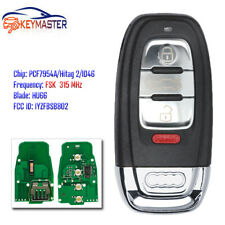 Smart Remote Key Fob 315MHz 3+1 Button for Audi  A1 A3 A4 Q5 Q7 - IYZFBSB802