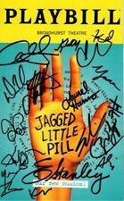 Jagged Little Pill Our New Musical Signed Autographed Cast Playbill