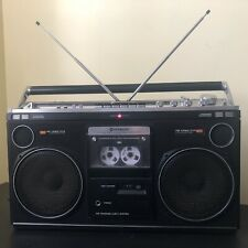 Radio Cassette Hitachi TRK-8080EW. Boombox Vintage
