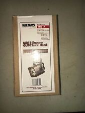 Nuvo TH314 Mr16 Square Track Head Brushed Nickel