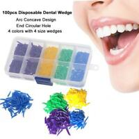 4 Size Dental Disposable Teeth Diastema Plastic Wedges Denture Material 800Pcs