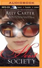 Heist Society by Ally Carter (2015, MP3 CD, Unabridged) Ex Library Edition