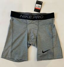 Nike NP Shorts Gray Men's Athletic Gym Compression Sport Shorts, Size L - NWT