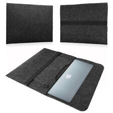 Apple Macbook Air 13 Hülle Tasche Laptop Schutz Cover Sleeve Filz Dunkelgrau