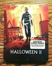 Halloween II 2 Steelbook Blu-ray NEW Sealed Limited Edition 2 Disc Scream
