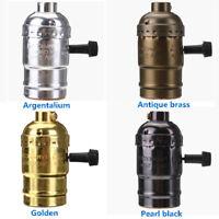 E27 Vintage Retro Edison Bulb Socket Adapter Ceiling Pendant Light Lamp Holder