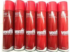 6 pcs of Ventti GAS REFILL Jet Lighter Butane Blowtorch Blow Torch Fuel Bottle