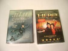 Se of 2 Jet Li Dvd. Contract Killer (Dvd, 2002) & Hero (Dvd, 2002) New, Sealed