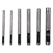 6pc Hollow Punch for Gaskets, Leatherwork & Other Crafts