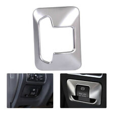 For Volvo XC60 XC70 S60 S80 Chrome Electronic Handbrake Button Panel Trim Cover